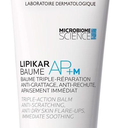 Balsam cu tripla actiune impotriva puseurilor de uscaciune a pielii Lipikar Baume AP+M