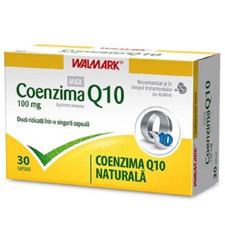 Coenzima Q10 Max 100 mg