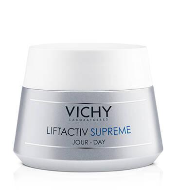 Crema de zi antirid si fermitate pentru ten normal-mixt Liftactiv Supreme