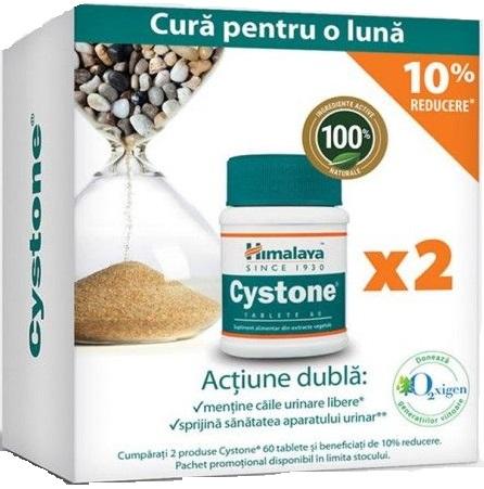 Cystone pachet 60 + 60 tablete