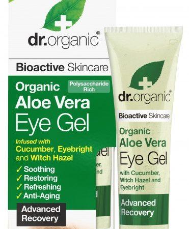 Dr Organic Aloe Vera Gel pentru ochi 15ml