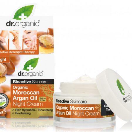 Dr Organic Argan Crema de noapte 50ml