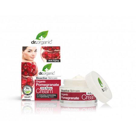 Dr Organic Rodie Crema anti-imbatranire 50ml