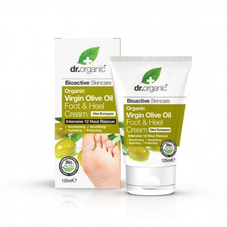 Dr Organic Ulei Masline Crema Picioare & Calcaie 125ml