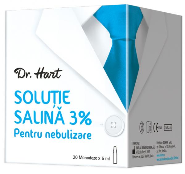 Dr.Hart Solutie salina 3%