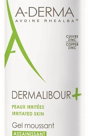 Gel spumant pentru piele iritata Dermalibour+