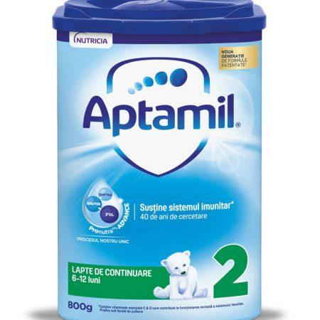 Lapte praf Aptamil 2