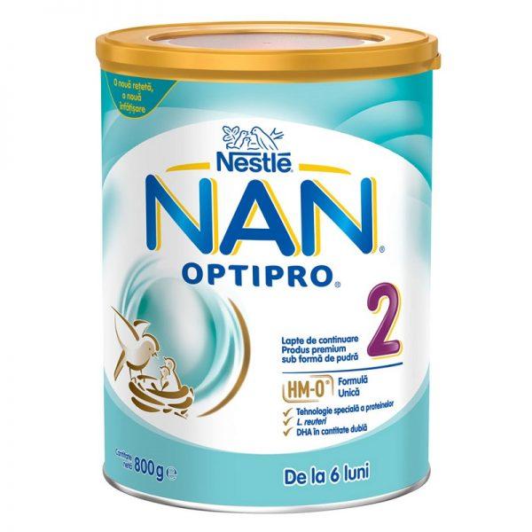 Lapte praf Nan 2 Optipro