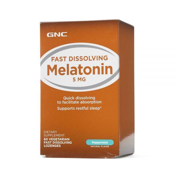 Melatonina cu aroma de menta 5 mg (135212)