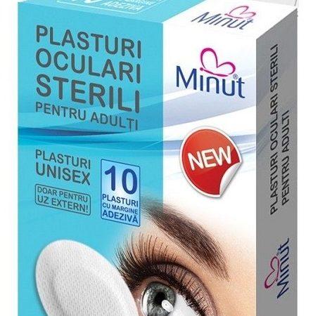 Plasturi Oculari Sterili Fete 5 Cm X 6.2 Cm