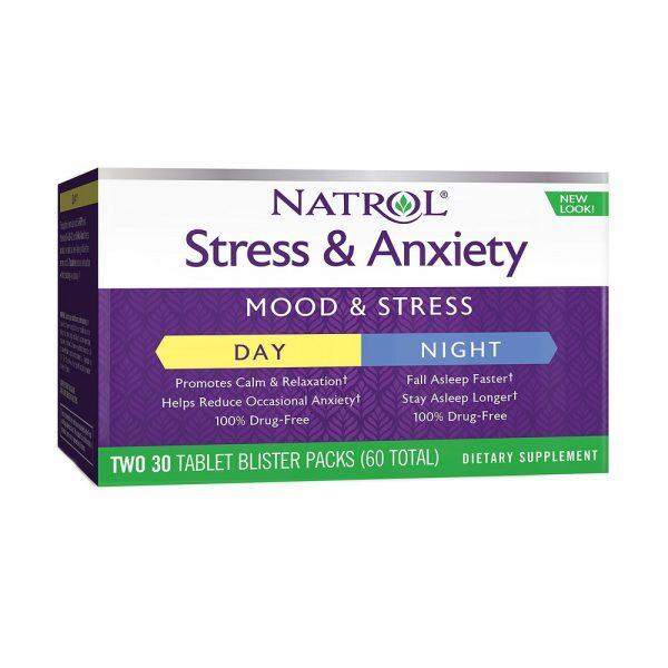 Stress & Anxiety Natrol (220207)