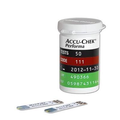 Teste glucometru Accu-Chek Performa