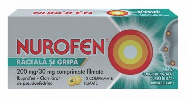 Nurofen Răceală și Gripă